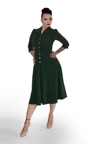 Jacky Kleid im Stil der 40er